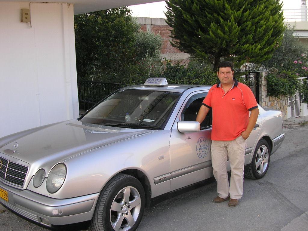 Taxichauffeur Spiros