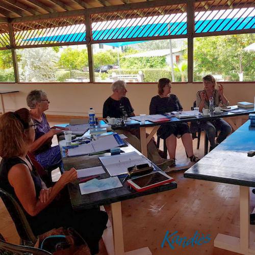 Griekse taalles in Epidavros